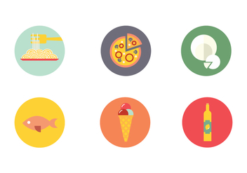 Napoli Food Drink Icon Vector - vector gratuit #431645