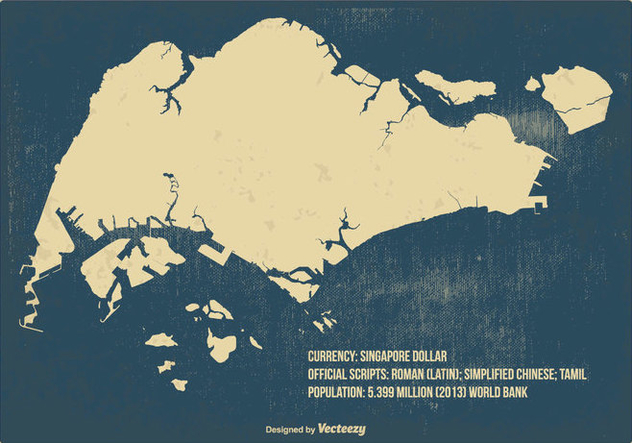 Old vintage singapore map free vector download 431805 cannypic old vintage singapore map free vector gumiabroncs Images