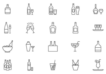 Free Cocktail and Spritz Vectors - vector #432595 gratis