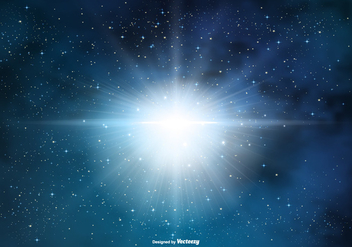 Supernova Space Background - бесплатный vector #432625