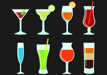 Vectors Glass Of Spritz - Free vector #432815