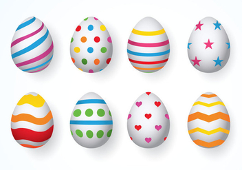 Easter eggs Vector - vector #433175 gratis