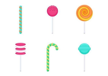 Free Delicious Sweet and Candies Vectors - vector gratuit #433615