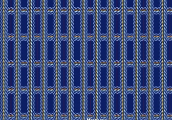 Dark Blue Flannel Pattern Vector - vector gratuit #433835