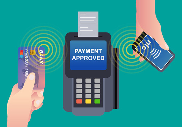 NFC Payment Vector - Free vector #433895