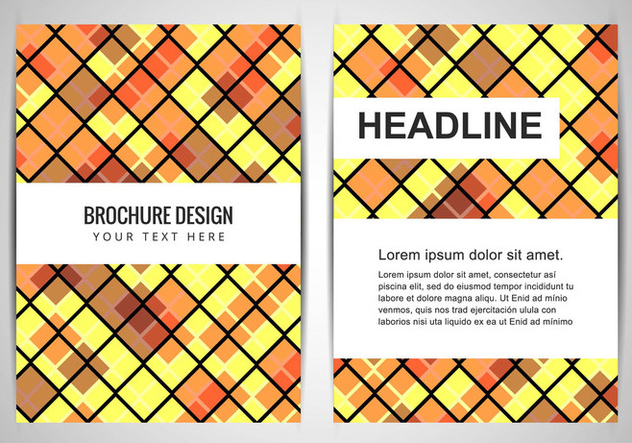 Free Vector Colorful Business Brochure - Free vector #434055