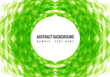 Free Vector Green Modern Background - Kostenloses vector #434095