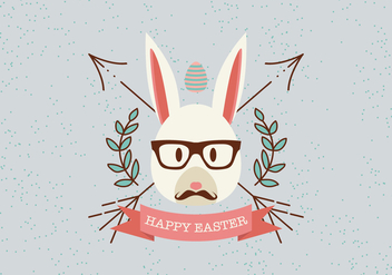 Happy Easter Element Vector - vector gratuit #434115