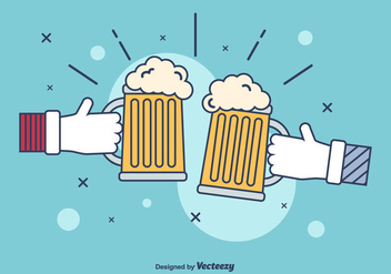 Beer Illustration Vector - vector gratuit #434305