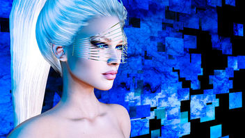 Cage mesh & makeup by SlackGirl - бесплатный image #434505