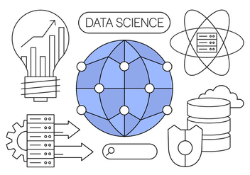Free Data Science Vector Illustrations - vector gratuit #434635