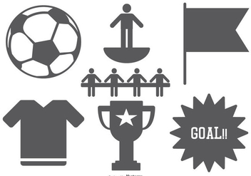 Subbuteo Icon Collection - vector #434775 gratis