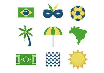 Free Brazil Vector Icons - Free vector #434845