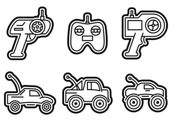 Free Outstanding RC Car Vectors - Free vector #435105