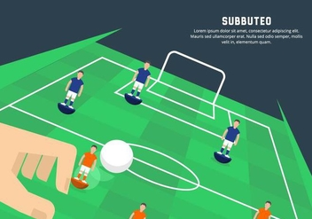 Subbuteo Illustration - бесплатный vector #435405