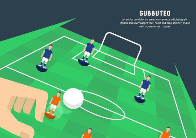 Subbuteo Illustration - Kostenloses vector #435405