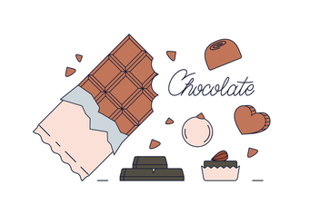 Free Chocolate Vector - бесплатный vector #435815