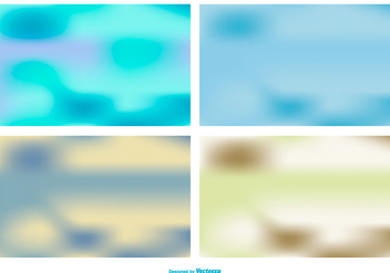 Blurred Background Collection - бесплатный vector #436135