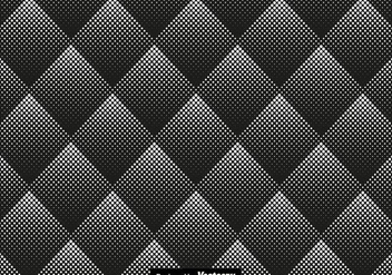 Halftone Seamless Pattern Vector Illustration - Kostenloses vector #436215