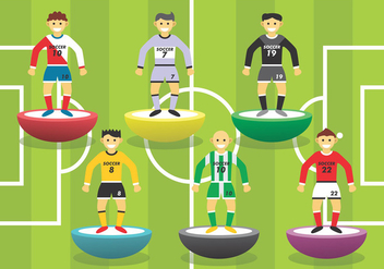 Subbuteo Vector Set - бесплатный vector #436595