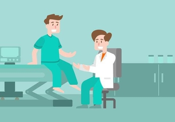 Physiotherapist Illustration - бесплатный vector #436715