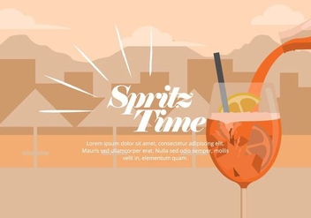 Spritz Illustration - vector #436995 gratis