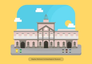 Napoli Buildings - vector #437015 gratis