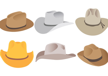 Free Gaucho Hats Icons Vector - бесплатный vector #437035