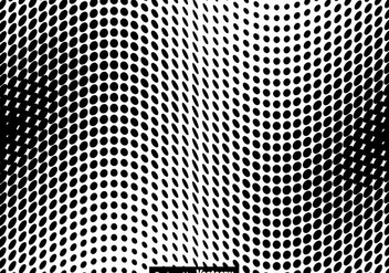 Halftone Vector Illustration - Kostenloses vector #437275