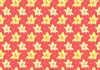 Yellow Rhododendron Flowers Pattern - vector #437295 gratis