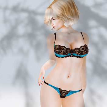 Lingerie Niki by Blacklace - Free image #437575