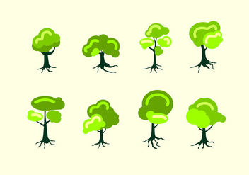 Tree With Roots Free Vector - vector #437645 gratis
