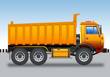 Camion Bane Truck - Free vector #437735