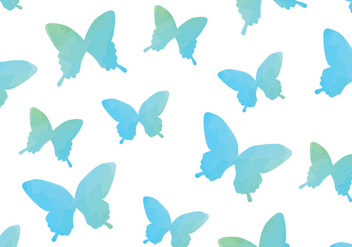 Watercolour Watercolour Butterfly Seamless Pattern - Kostenloses vector #437835