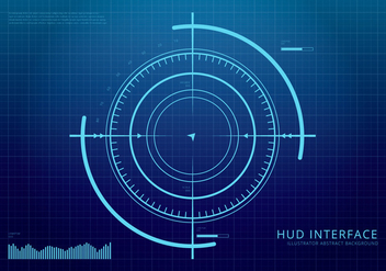HUD Background and Element Background Set - Free vector #438515