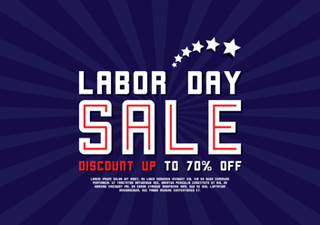 Labor Day Poster - vector gratuit #438645
