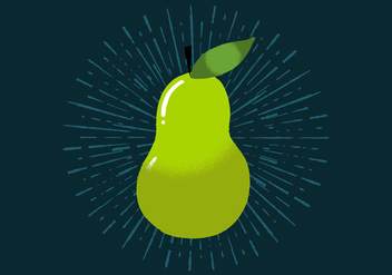 Radiant Pear - vector gratuit #438775