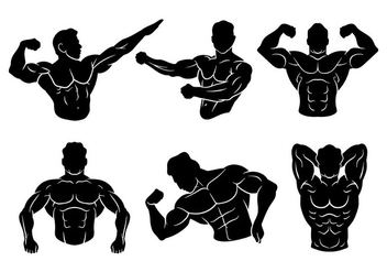 Flexing Vector Icons - Kostenloses vector #439435