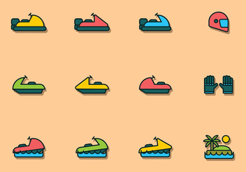 Water Sport Icon - vector #439485 gratis