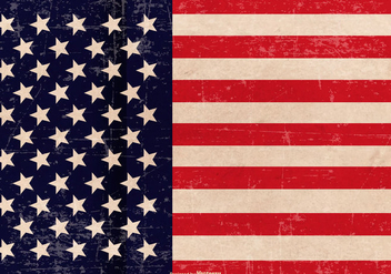Grunge Patriotic Background - Free vector #439695