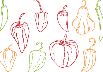 Free Peppers Vectors - Free vector #440445