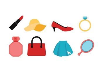 All About Women Icon Pack - vector #440745 gratis