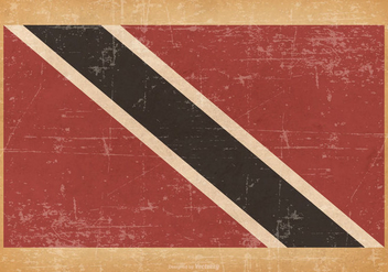 Grunge Flag of Trinidad and Tobago - Free vector #440835