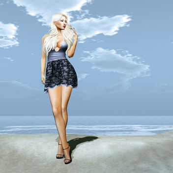 Dress Altea 2 by Lybra @ The Dressing Room - image gratuit #440955