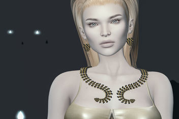 Cassidy Necklace & earrings by Zibska @ ON9 - Free image #441015