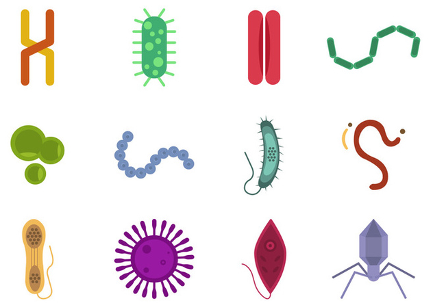Mold and Virus Vector Collections - Free vector #441115