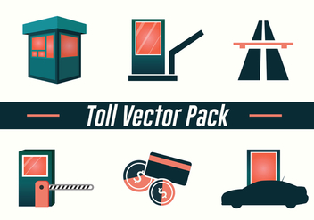 Toll Vector Pack - vector gratuit #441295