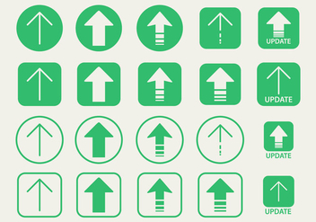 Update Arrow vector icon - Free vector #441305