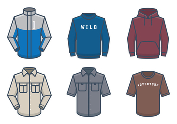 Outdoor Wear - vector #441395 gratis
