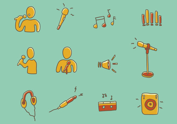 Music Icon - vector #441615 gratis
